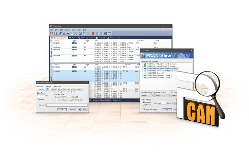 PCAN-View: PEAK-System
