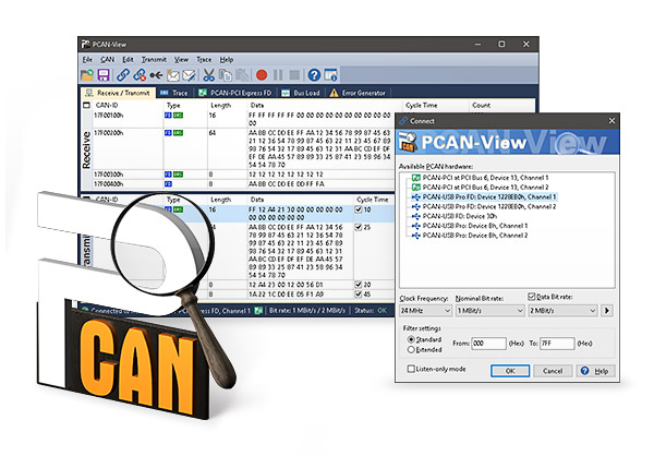 PCAN-View Software